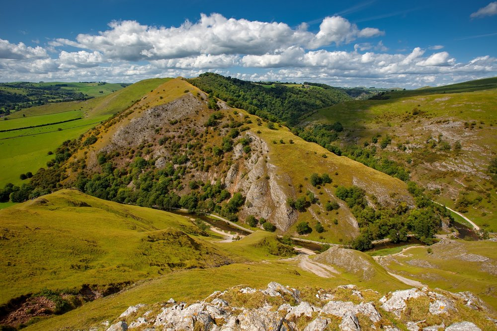 Ilam Park, Dovedale and the White Peak - Popular location for walking all year round, maintained by the National Trust.