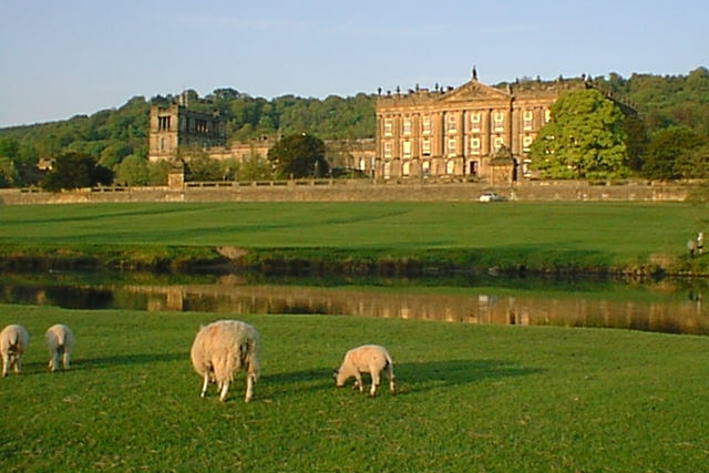 Chatsworth House - Stunning stately home with parkland, gardens, farmyard and playground for children.