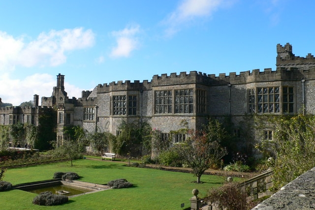 Haddon Hall - House dating back to the 12th Century, used as a film set for period dramas.