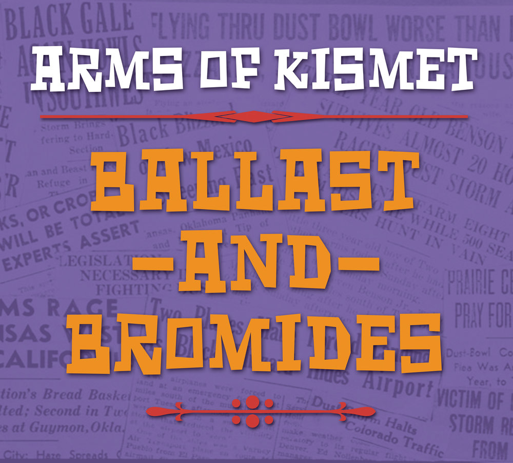BALLAST AND BROMIDES (2018)  Amazon  |  iTunes  |  CD Baby  |  Bandcamp