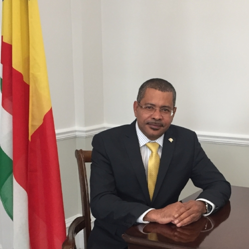 HE Derick Ally   High Commissioner to the United Kingdom, Republic of Seychelles