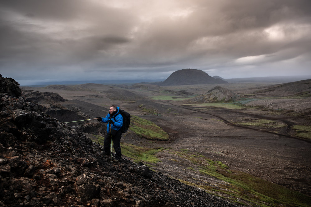 Glaciovolcanologist, Dr. Benjamin Edwards in his (one of many) research field.