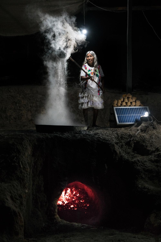 Rubén Salgado Escudero, Solar Portraits - Mexico