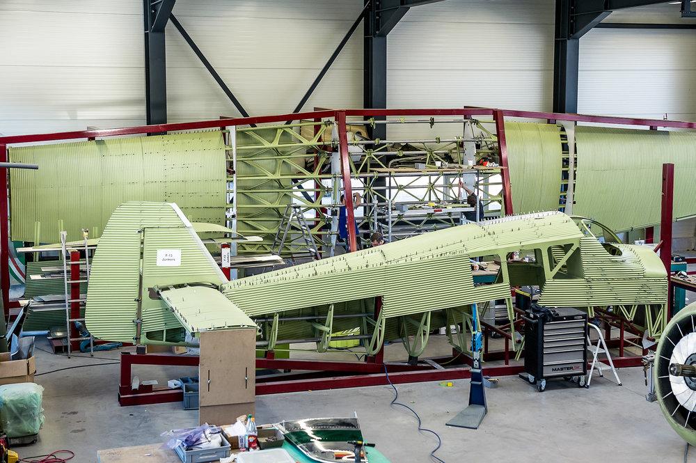 Junkers F 13 - Ganzmetallbauweise  Quelle & Copyright Hinweis: Gregor Kaluza