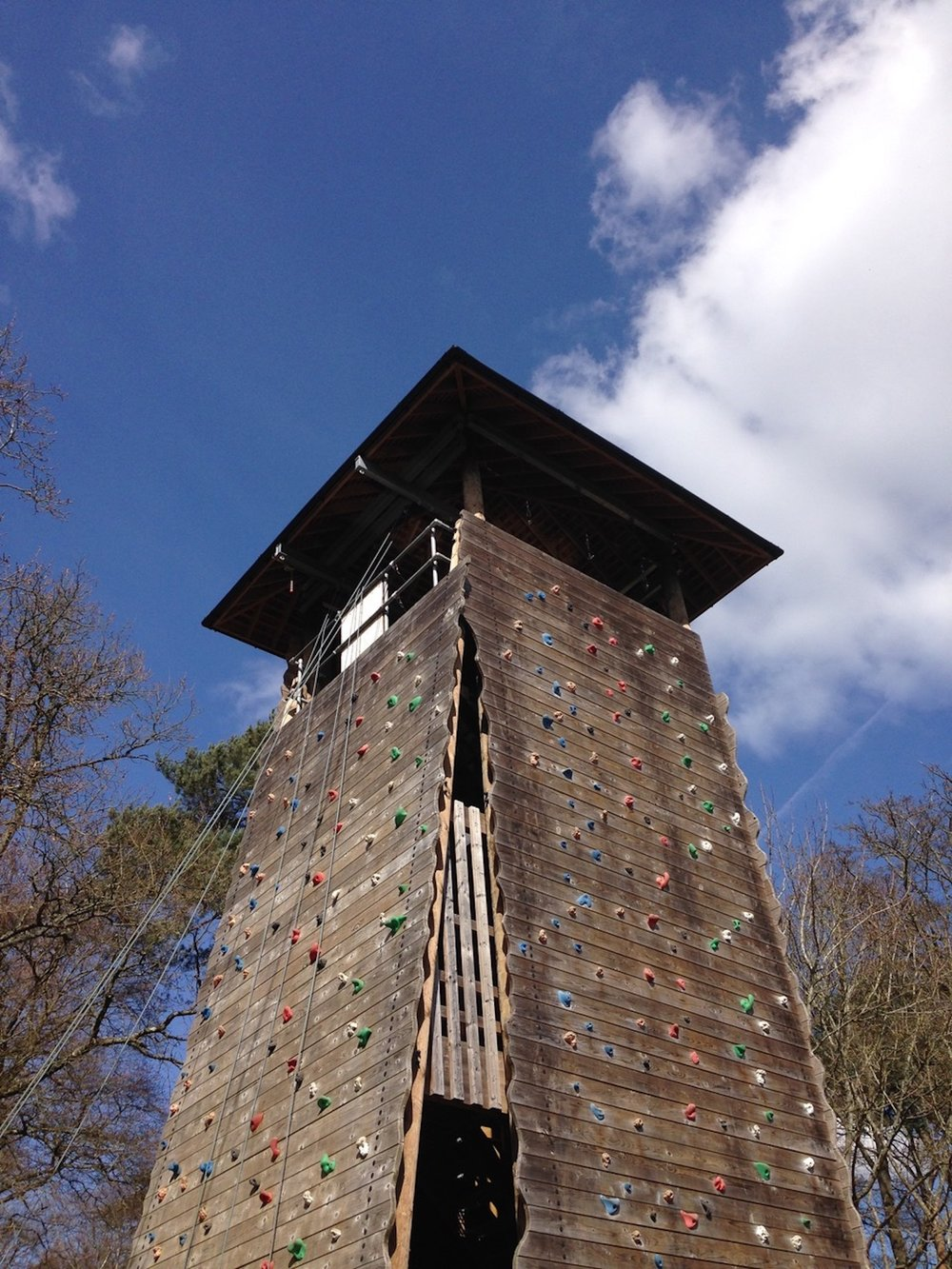 Runways Activity Centre climbing tower 02.jpg