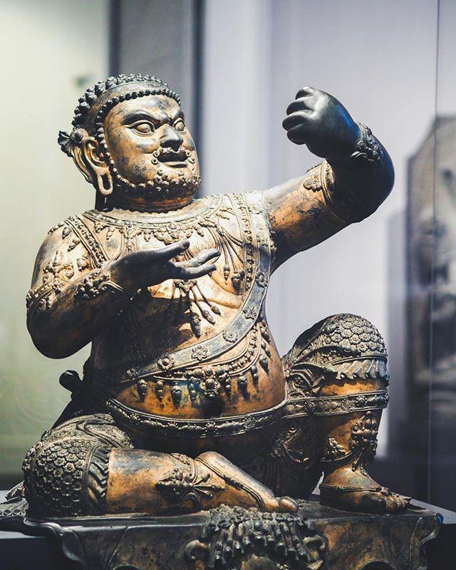 Exposition au Victoria et Albert Muséum  #london #londres #exposition #museum #musee #bouddhisme #art #culture #travel #voyage #trip #victoriaandalbert #victoriaandalbertmuseum