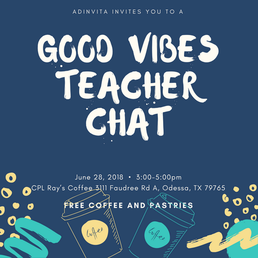 - Join Adinvita for an afternoon of collaboration to share your ideas. Come hear the thinking behind our new creative school and curriculum, and decide if Adinvita is the right fit for you!!