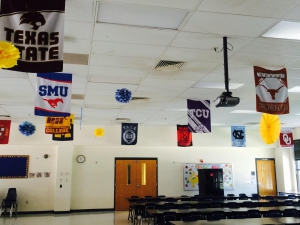 College_flag_Clarke_Elementary