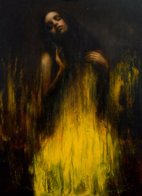 'Study for Morning Light'    Original Oil on Board