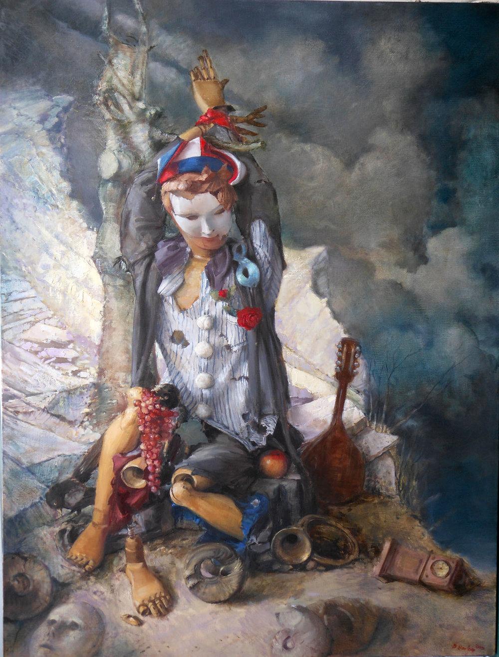 'Broken'    Original Oil on Canvas