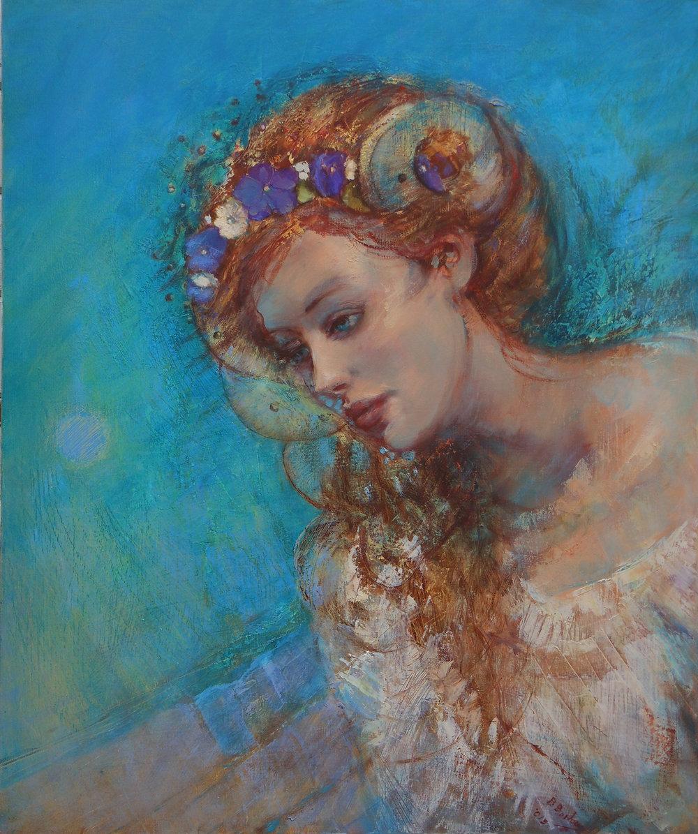 'Forgotten Songs'    Original Oil on Canvas