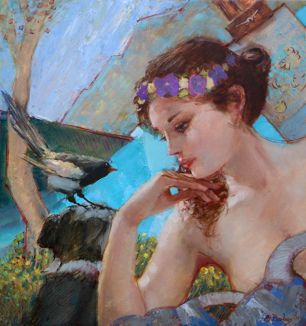 'Lakeside'    Original Oil on Canvas