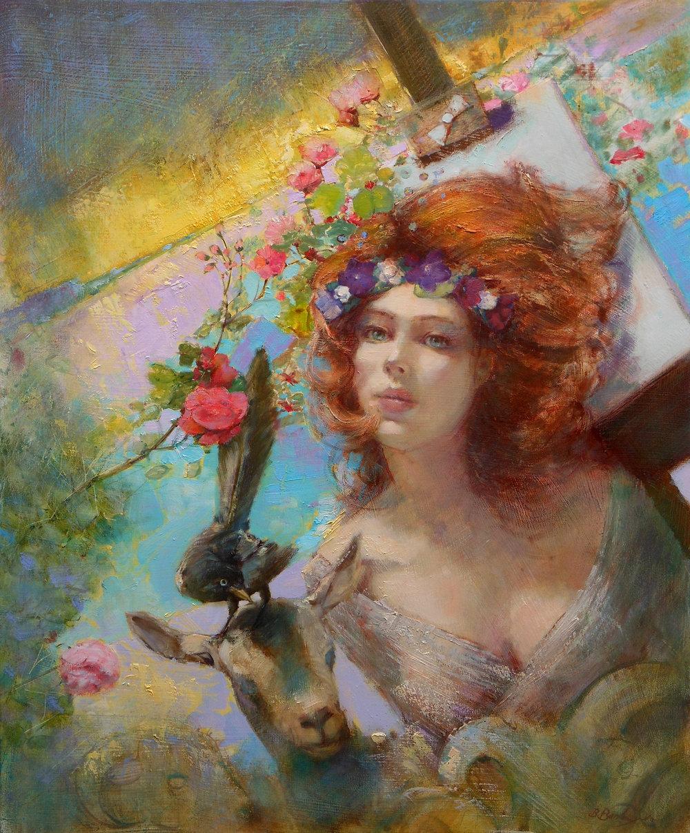 'Lemon Dawn'    Original Oil on Canvas