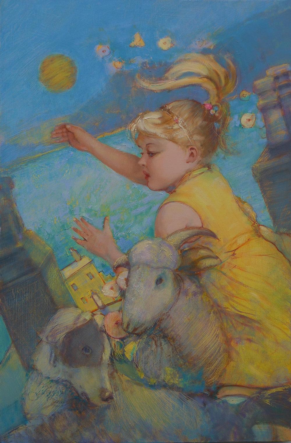 'Lemon Dreams'    Original Oil on Canvas