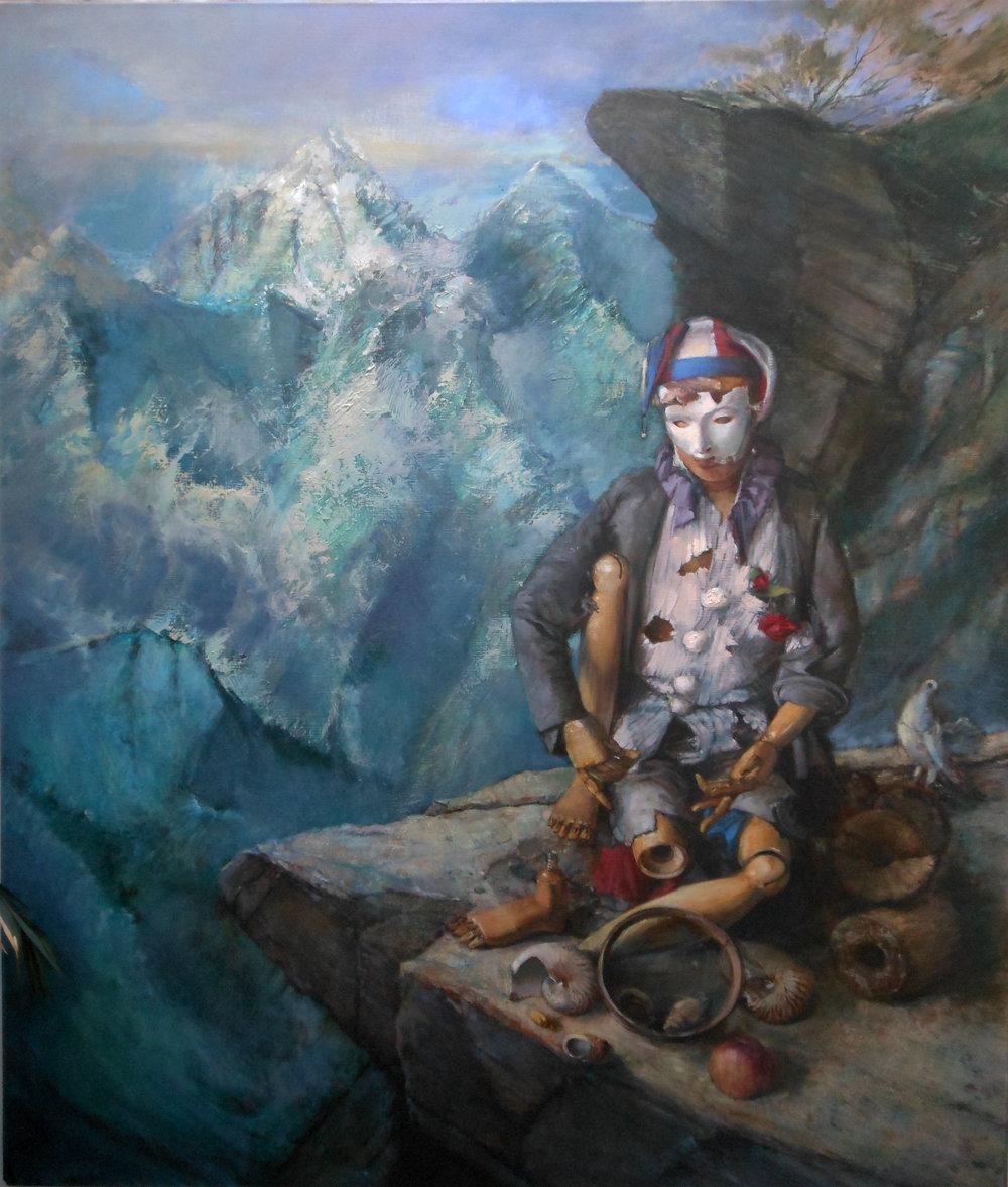 'On the Edge'    Original Oil on Canvas