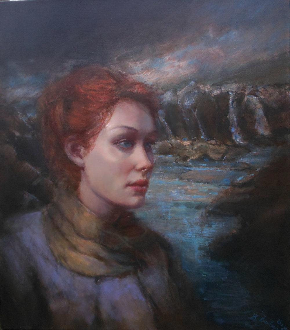 'The Stream'    Original Oil on Canvas