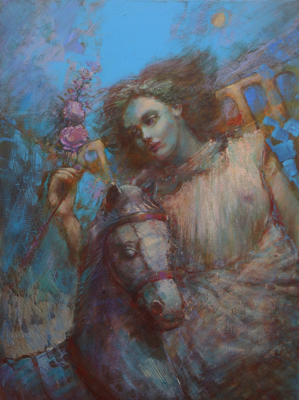 'The Warrior'    Original Oil on Canvas