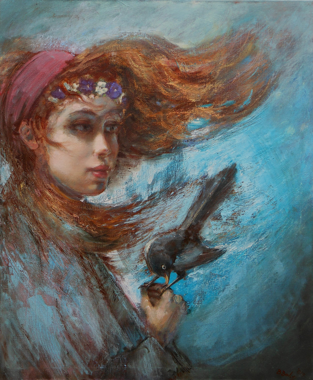 'Winds of Time'    Original Oil on Canvas