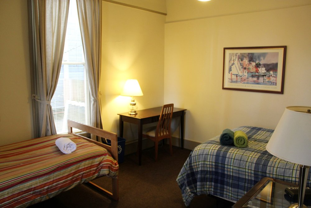 Double and Single Bed (Private Room)