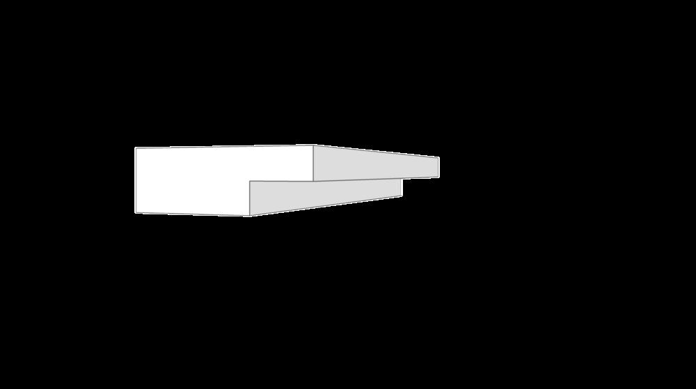 """EM7102 - 2.25""""x.75"""""""