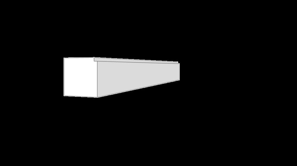 """EM8010 - .688""""x.688"""""""