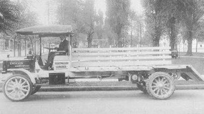 Emerson Hardwood TruckBW
