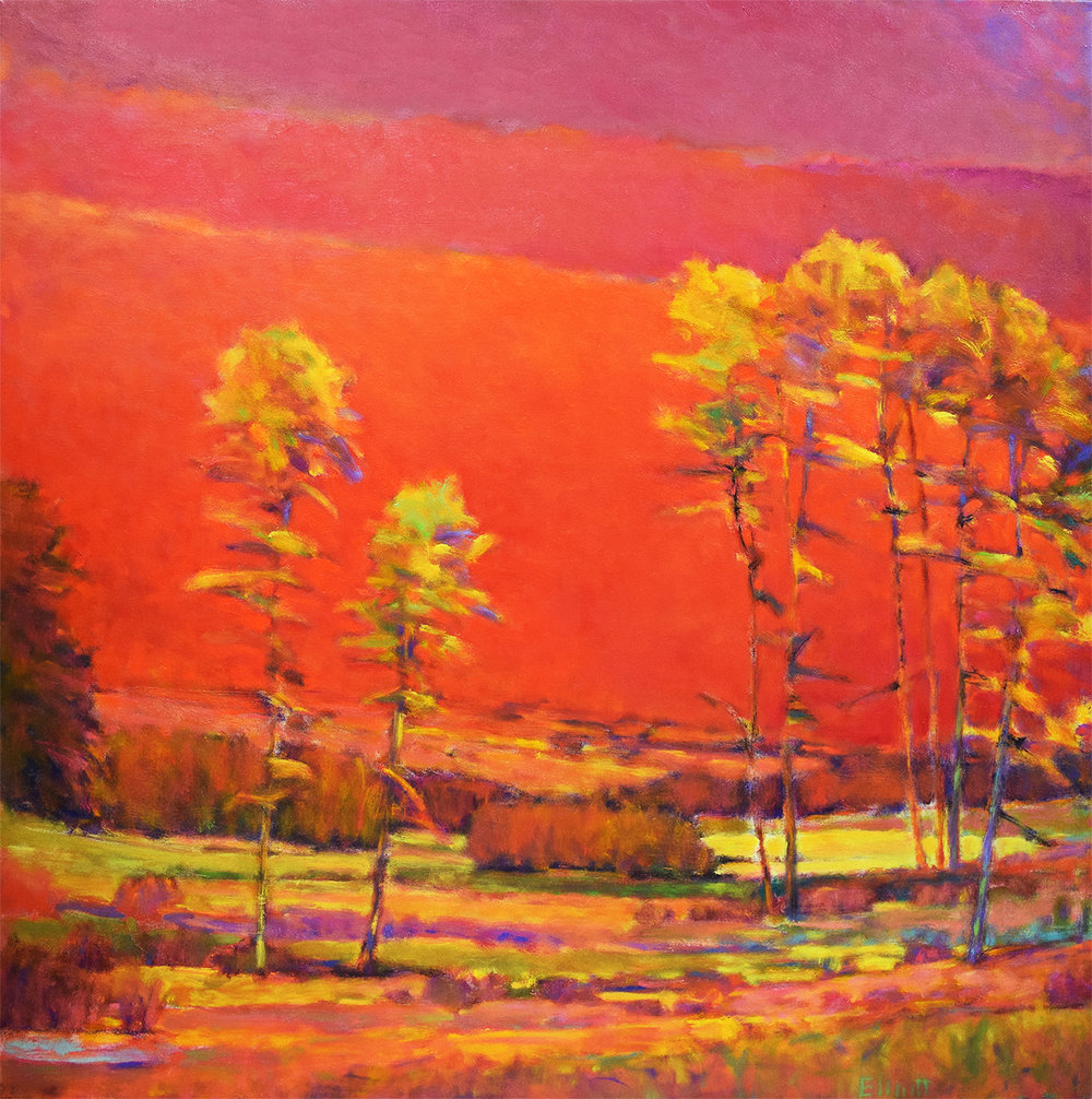 - Gathering Light ll (50x50) $8700 SOLD