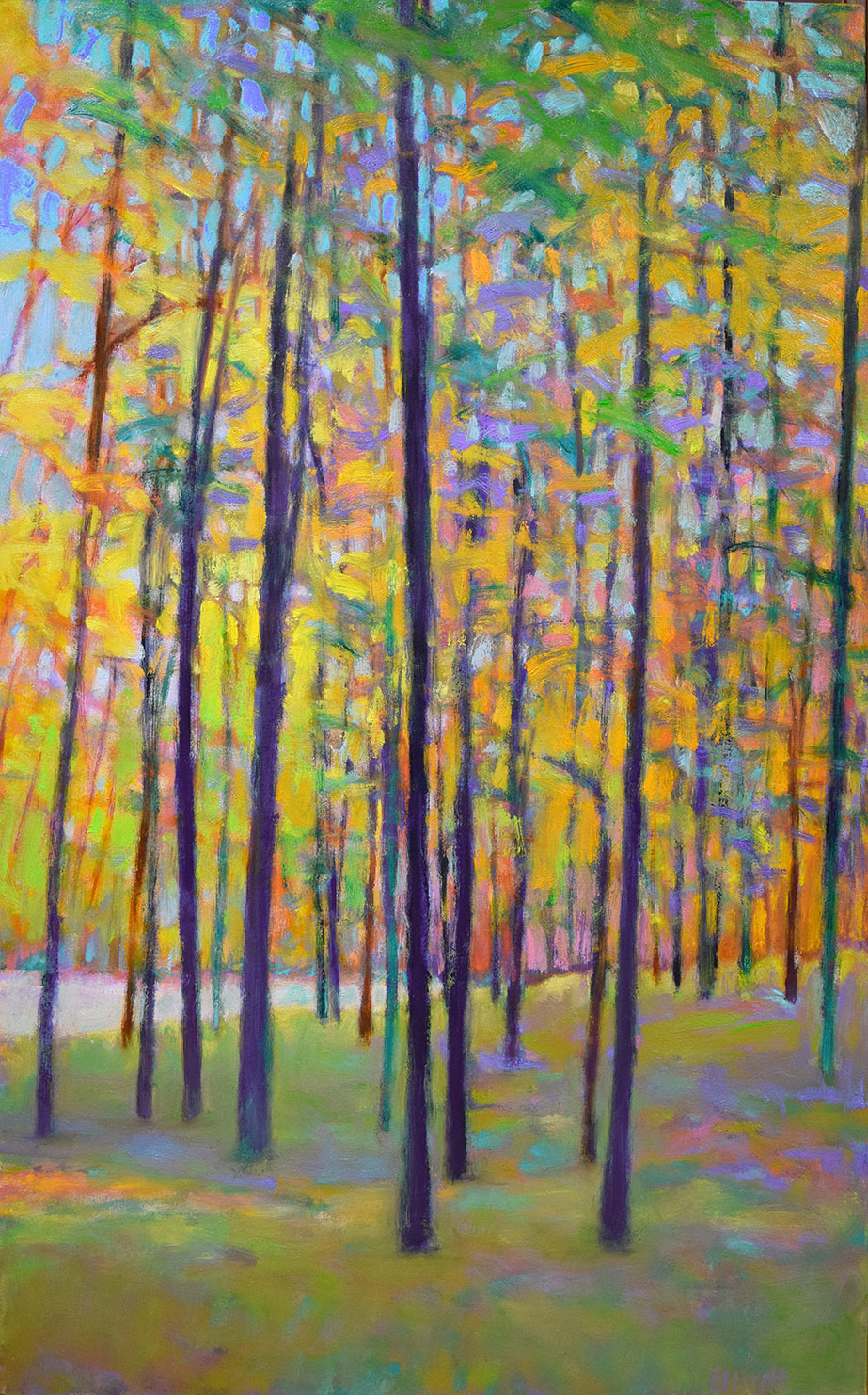 - Color At The Edge Of The Lake (50x32) $6400