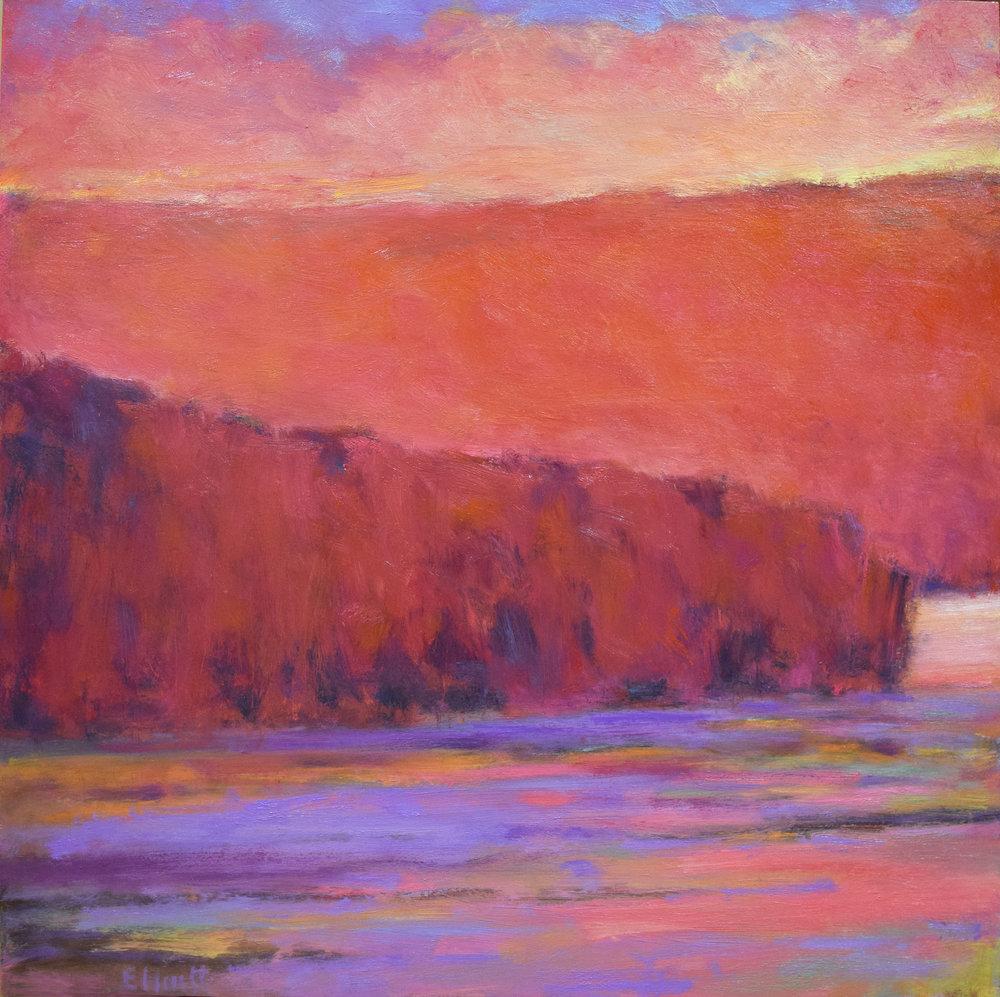 - Iridescent Lake (26x26) $2450