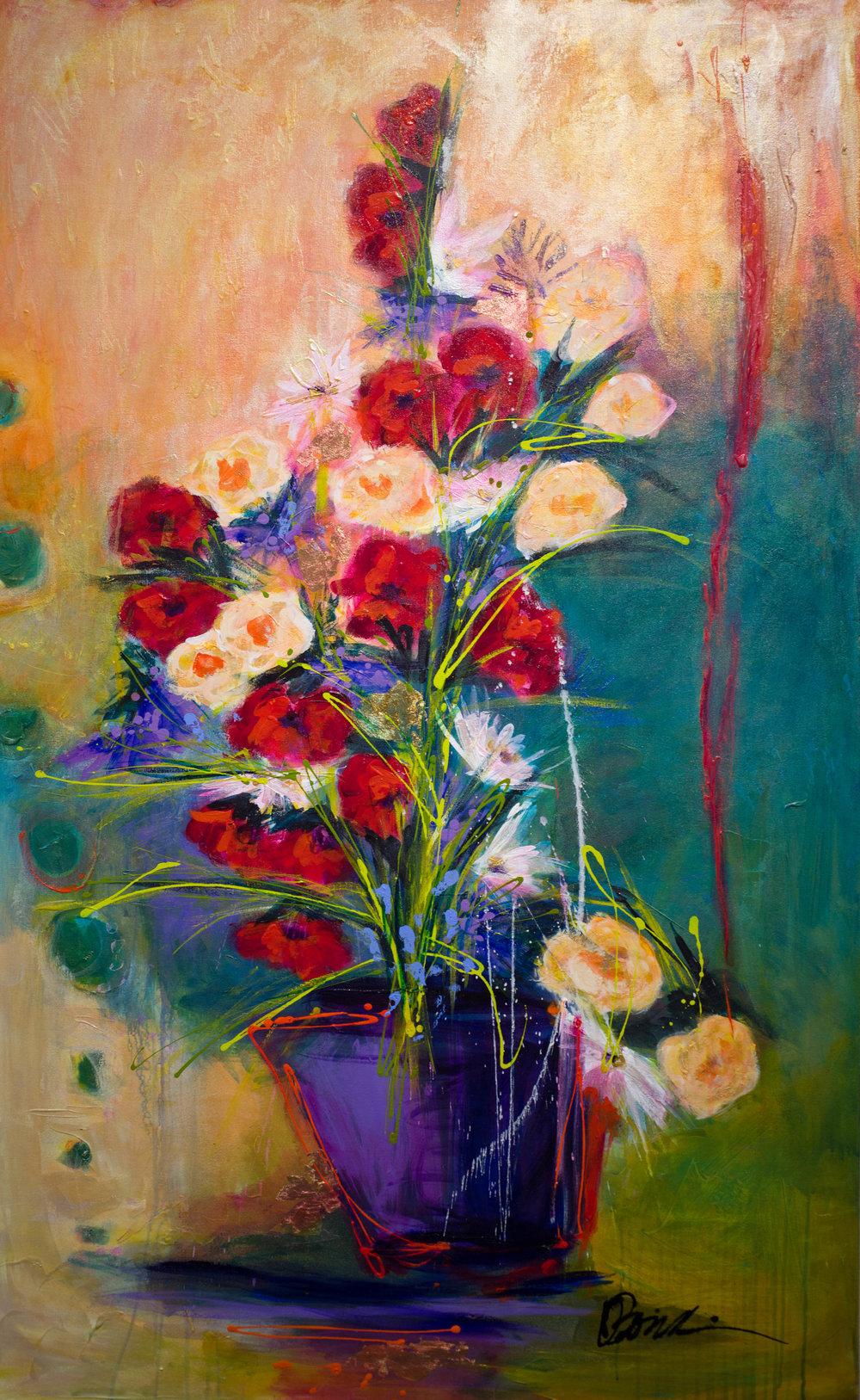 - Red Silk Ribbon (63x39) $7800