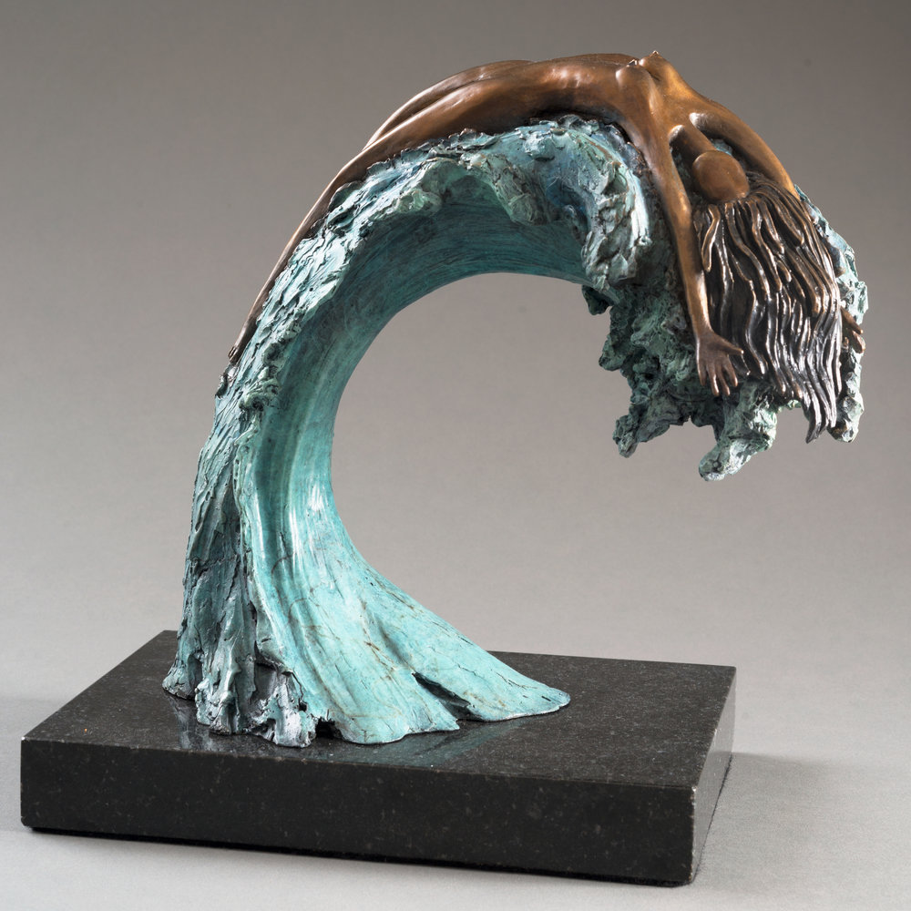 - Swept Away (10x6x10) Bronze $2700