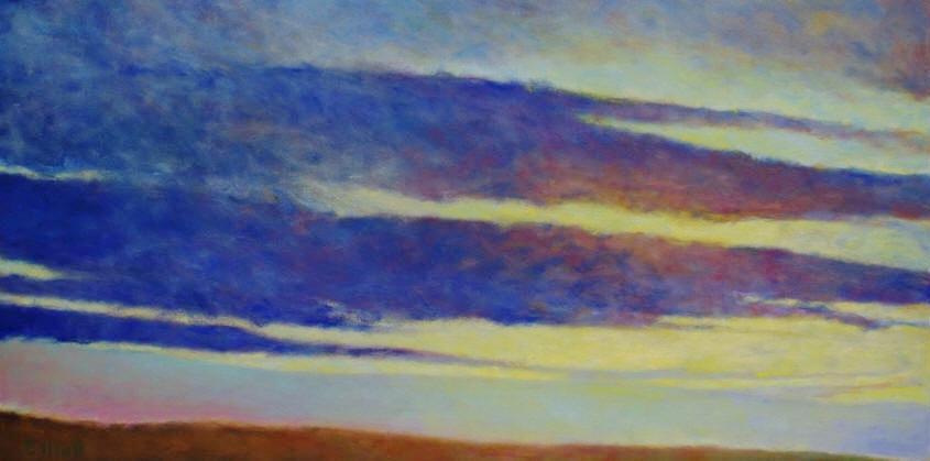 - Soft Skies II (24 x 48) $4700