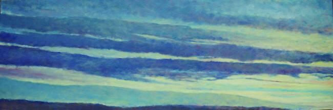 - Soft Skies (20 x 60) $5100