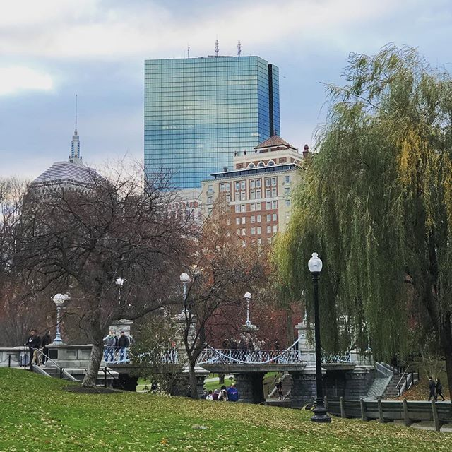 Hello, Gorgeous! . Awesome maternity session and another family session 📸 this afternoon... It is so nice to be in the city for sunset.... even if it's only 4 p.m.! 😂 . . . #bostonphotographer #bostonpublicgardens #bostonfamilyphotographer #Boston #JohnHancock