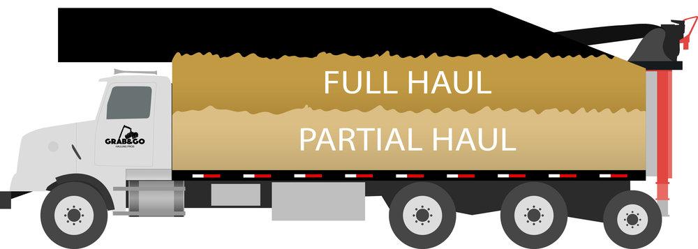 truck fill chart