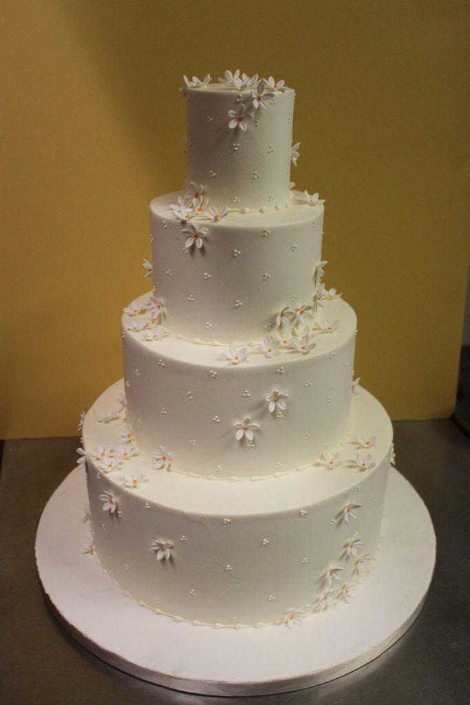 Dainty Daisy Wedding Cake