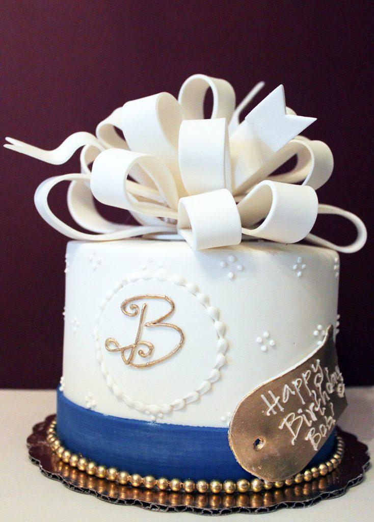 Fancy B Cake