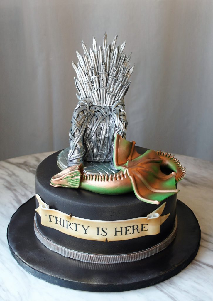 Game of Thrones 30 Cake