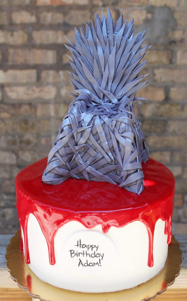 Game Of Thrones Red Drip Cake