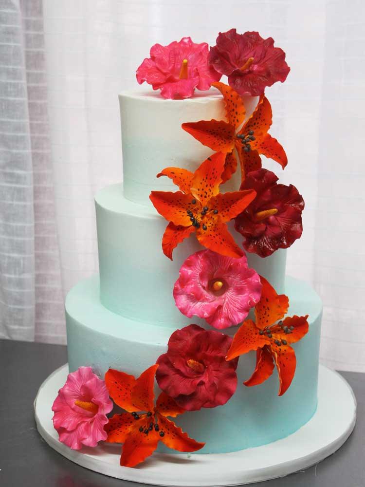 Tropical Cascade Cake