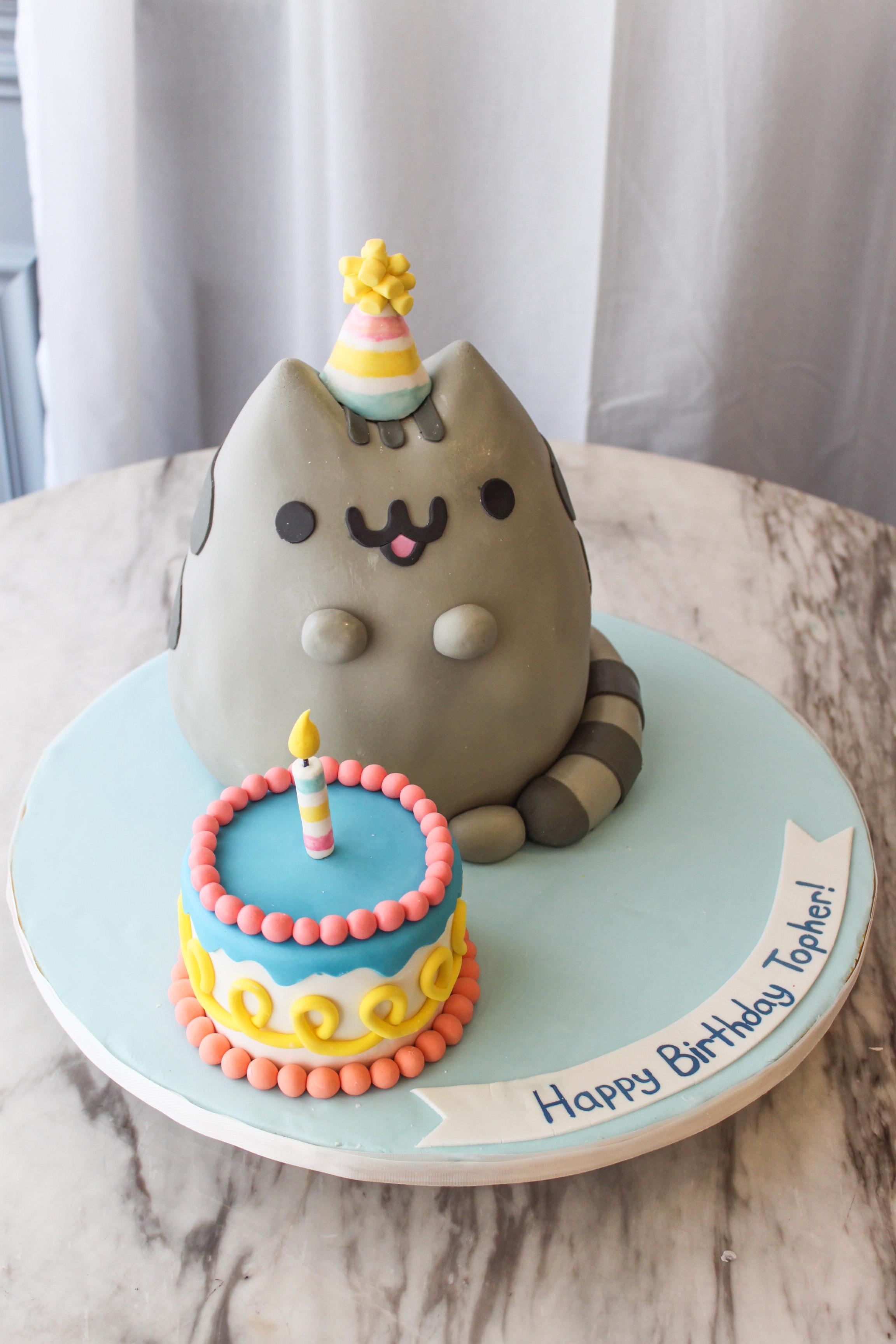 Pusheen Birthday Kids Cake