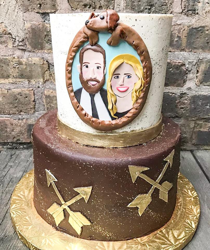 Daschund Cake