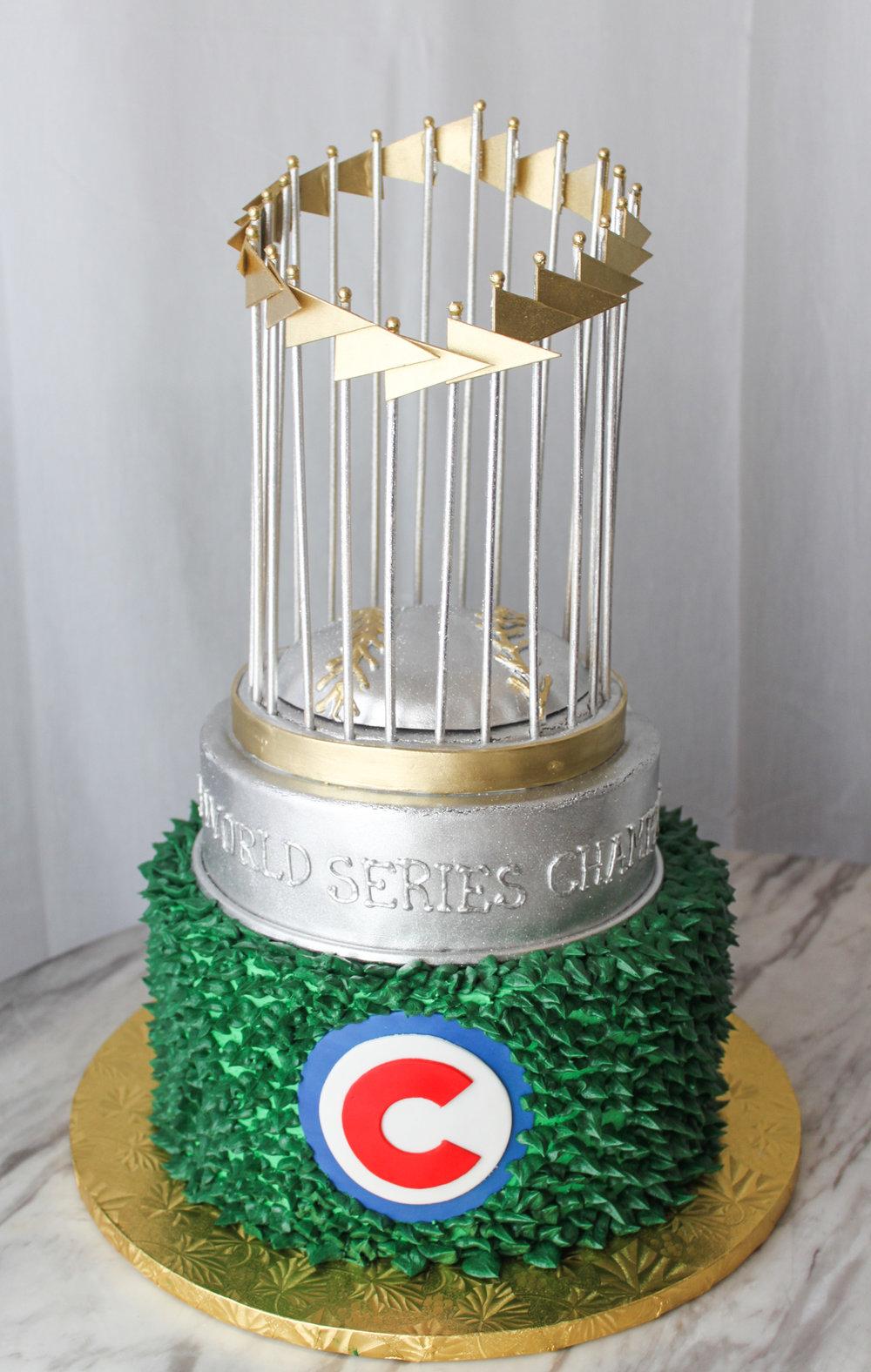 Cubs World Series Cake