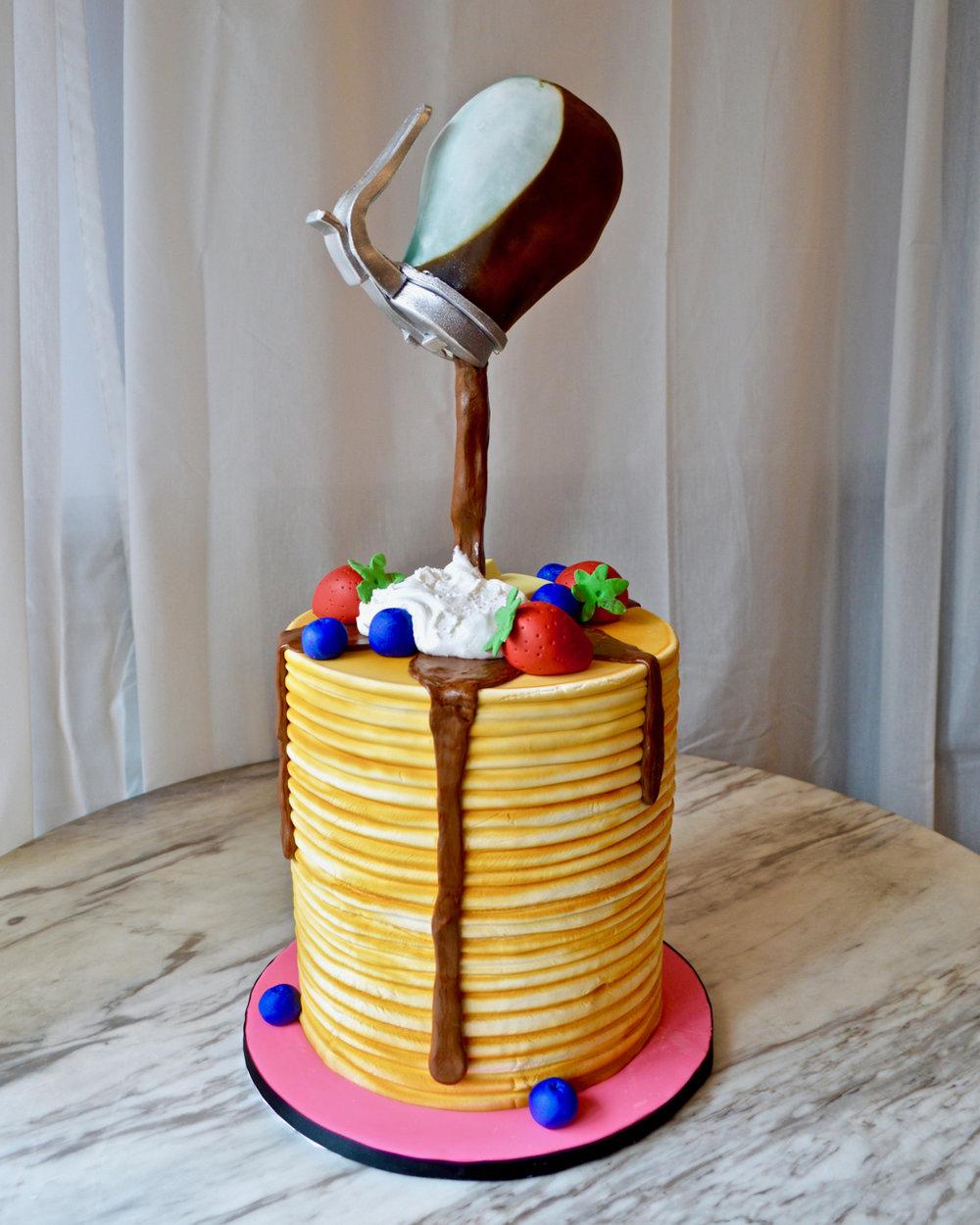 Pancake & Syrup Cake
