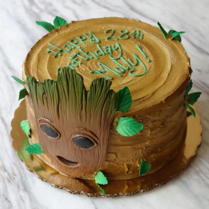 Groot Cake
