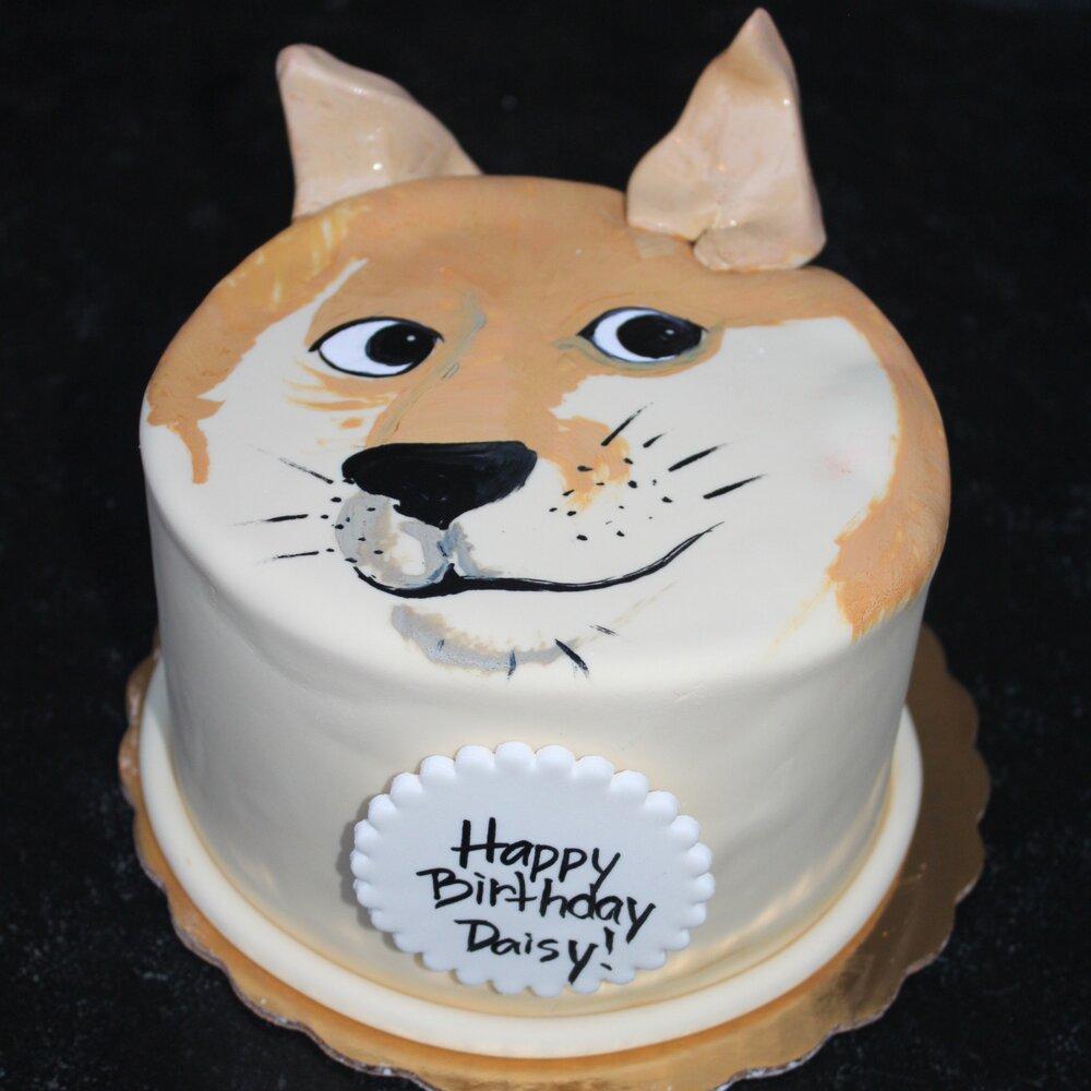 Happy Dog Cake