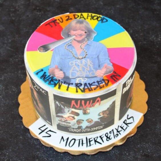 Gagsta Rap Cake