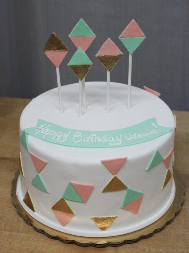 Triangle Cake