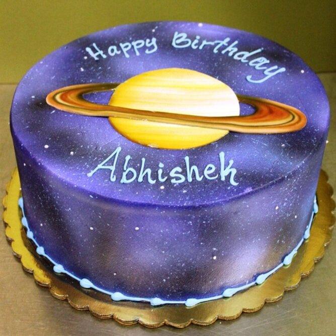 Saturn Space Cake