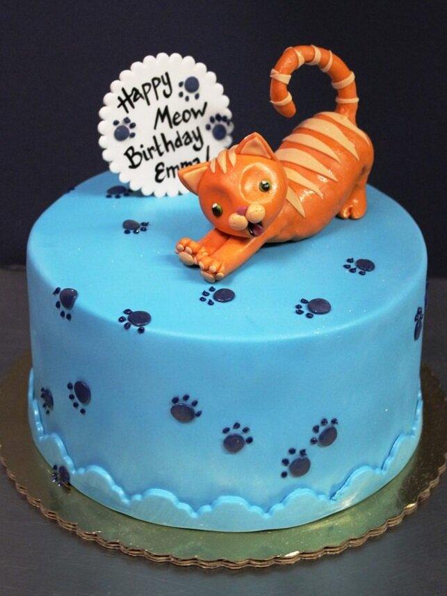 Kitty Stretch Cake
